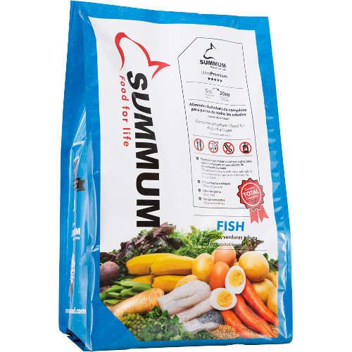 Alimento desidratado para cães Summum Fish