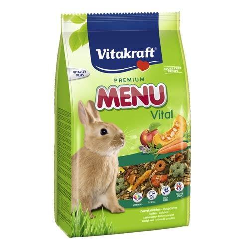 Alimento para Coelhos anões Vitakraft Menu Vital