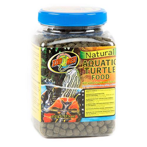 Alimento completo Tartarugas Aquáticas em crescimento ZOOMED