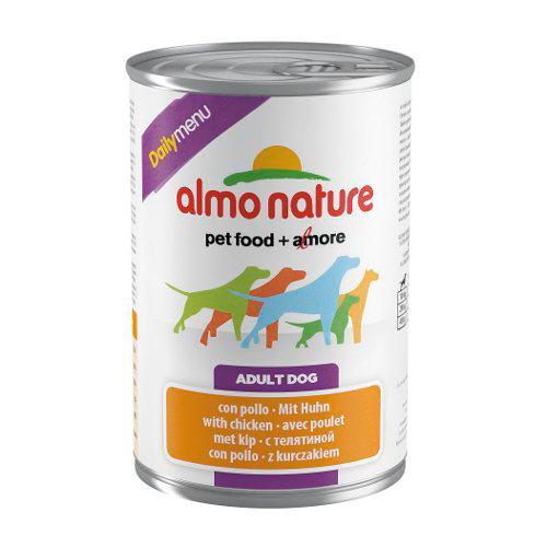 Almo Nature Daily Menu Frango Comida húmida natural para cães