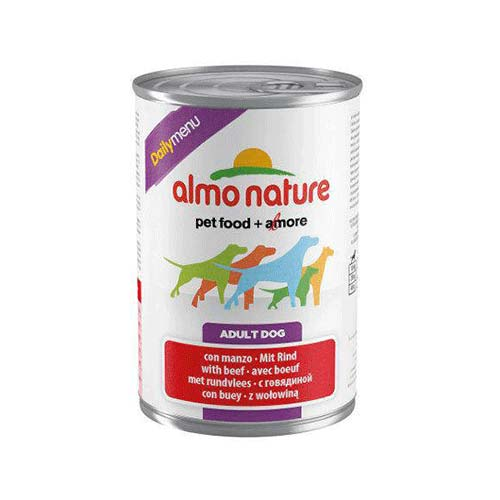 Almo Nature Daily Menu Boi Comida húmida natural para cães