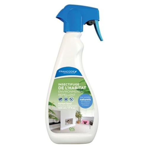Antiparasitário natural para cães e gatos ambiental em spray Francodex