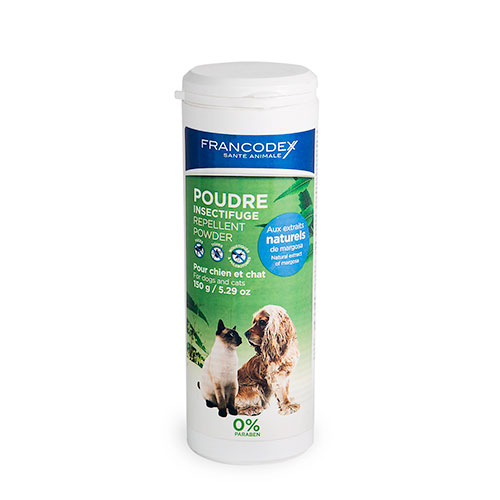 Antiparasitário natural para cães e gatos em pó Francodex