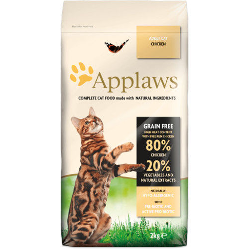 Applaws Adult Cat ração para gatos com frango