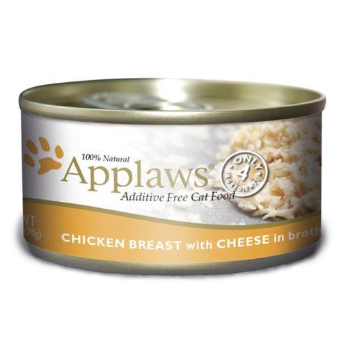Applaws - Alimento fresco em latas Apresentação Peito de frango e queijo
