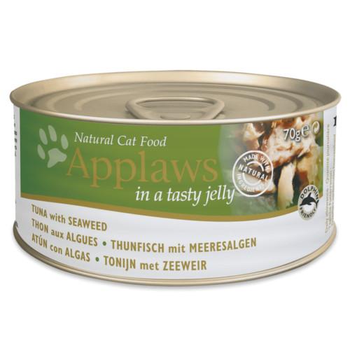 Applaws comida húmida para gatos de atum com algas em gelatina