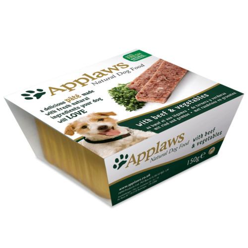 Applaws comida húmida em patê de vitela e legumes para cães