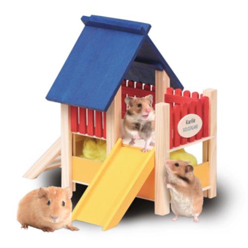 Área de brincar parque para roedores