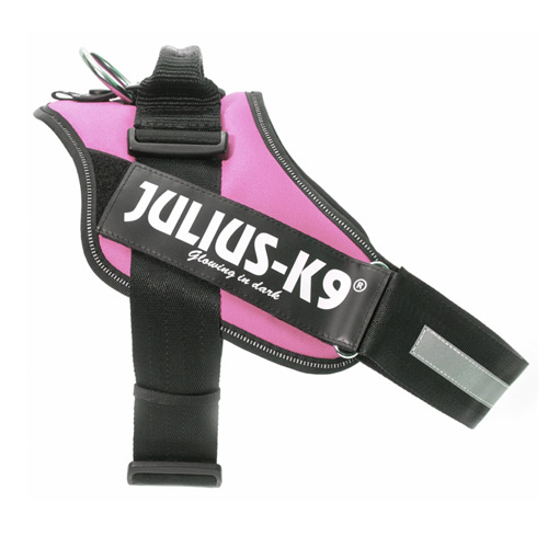 Arnês ergonómico Julius K9 IDC rosa
