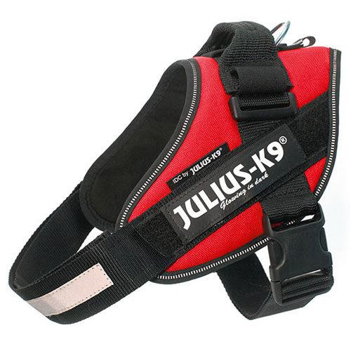 Arnês ergonómico Julius K9 IDC vermelho