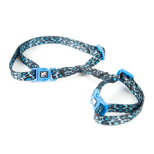 Arnês para gatos TK-Pet Safari pantera azul
