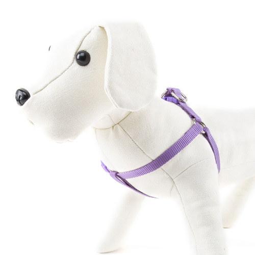 Arnés para cães de Nylon linha Basic Cor Lilás
