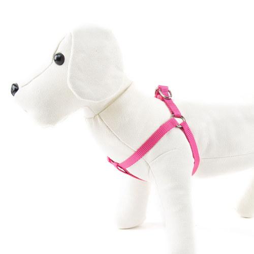 Arnés para cães de Nylon linha Basic Cor Rosa