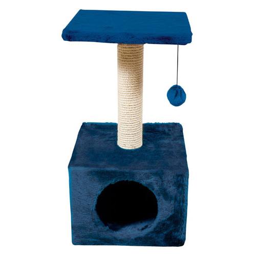 Arranhador para gatos Savanna Town azul