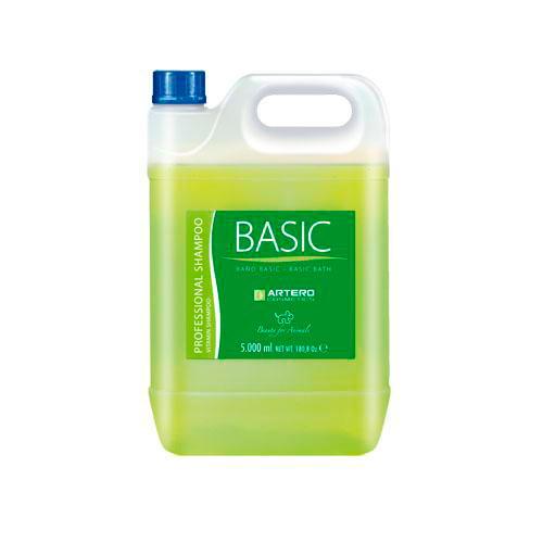 Artero Champô Basic limpeza máxima para cães e gatos 5 L