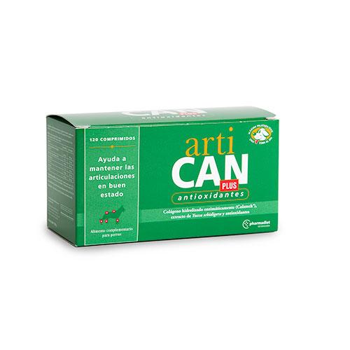 Condroprotector Artican Plus com antioxidantes para cães