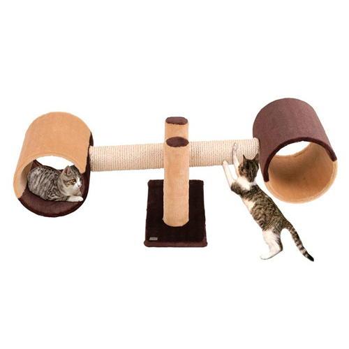 Arranhador baloiço divertido para gatos