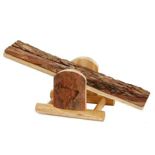 Balanço de madeira para hamster