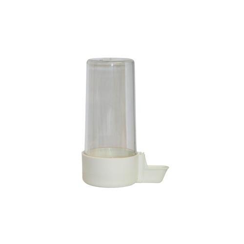 Bebedouro de plástico de tubo para pássaros
