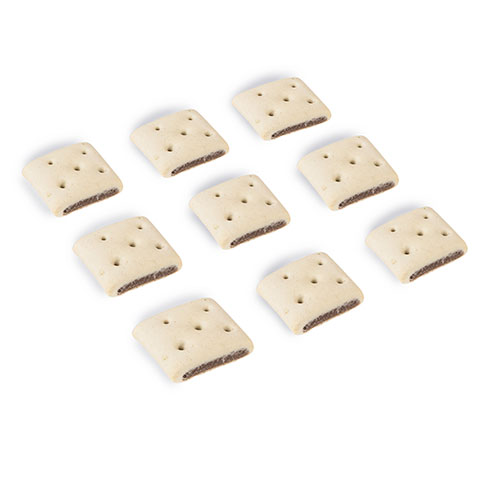 Biscoitos para cães Criadores Burguer
