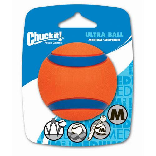 Bola de borracha flutuante Chuckit! Ultra
