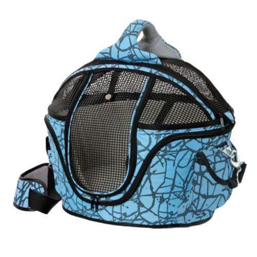 Bolsa de transporte cama Shopper Deluxe para mascotes Cor Azul