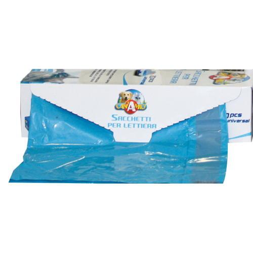 Bolsa higiénica universal descartáveis para bandeja sanitarias