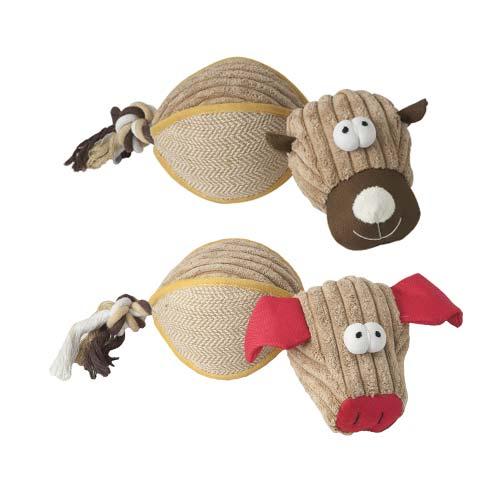 Brinquedo para cães Nayeco bola peluche FarmBall