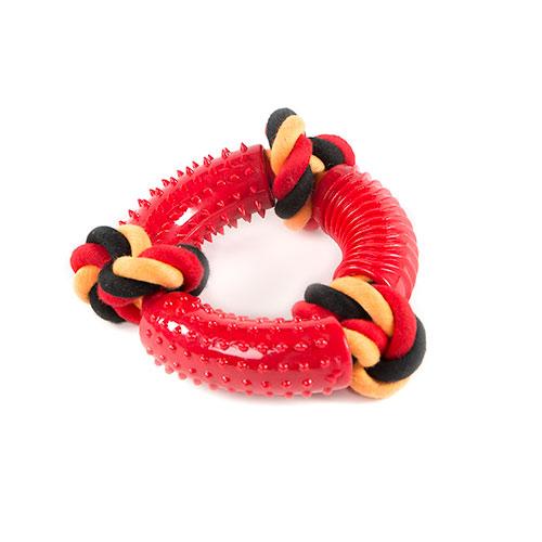 Brinquedo para cães TK-Pet SportDog argola com corda