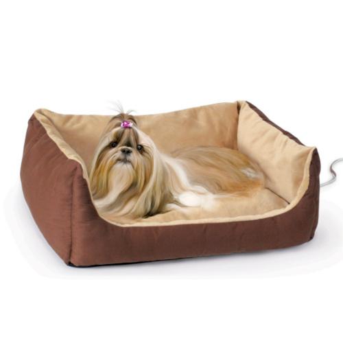 Cama aquecedora elétrica para cães e gatos