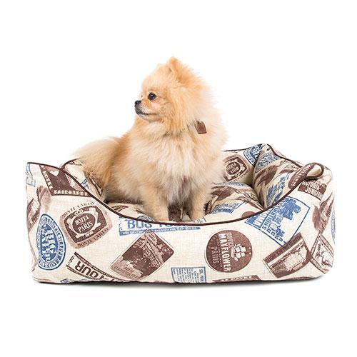 Cama berço para cãesTK-Pet Tour azul