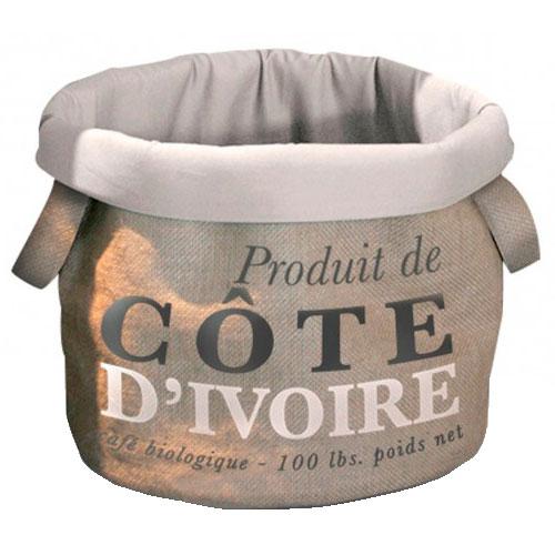 Cama de desenho saco de café Cote D'Ivoire