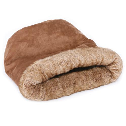Cama em forma de saco para gatos Brownie Sock