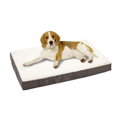 Colchão ortopédico para cães TK-Pet cor cinzenta