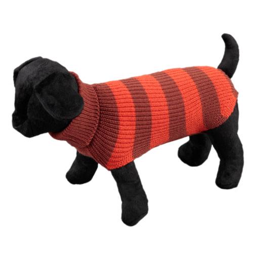 Camisola de listas para cães Vintage