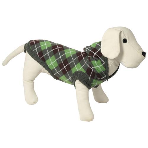 Camisola de malha com capuz para cães Oxford