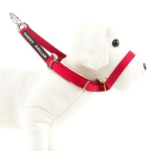 Canny Coleira de manejo para cães rebeldes Cor Vermelho