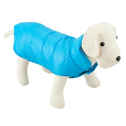 Capa acolchoada para cães Candy turquesa