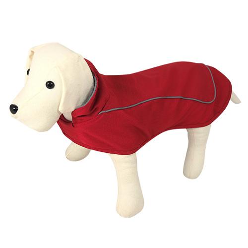 Capa impermeável para cães Nayeco Gales vermelho