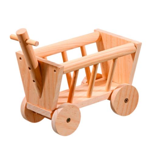Carroça de madeira para roedores