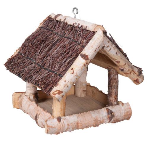 Casa ninho rústica para aves