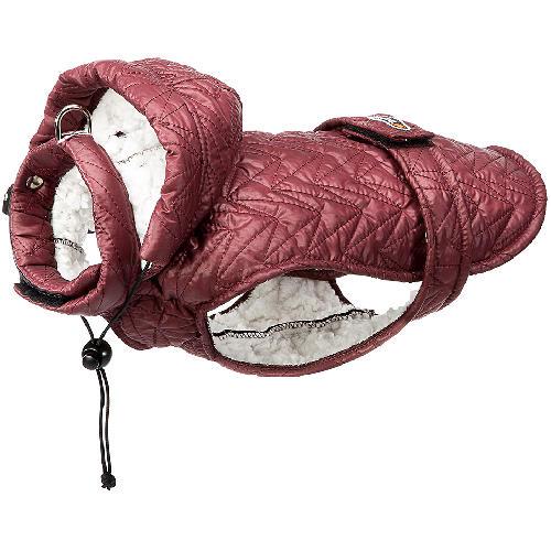 Casaco impermeável acolchoado com forro de lã de ovelha Husky