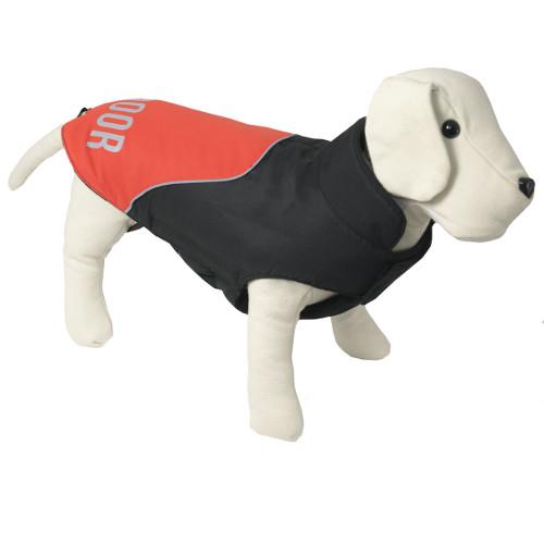 Casaco para cães Outdoor Trekking cor coral