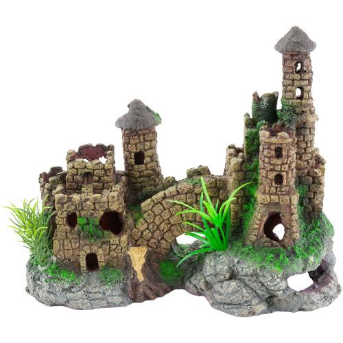 Castelo para aquário estilo medieval