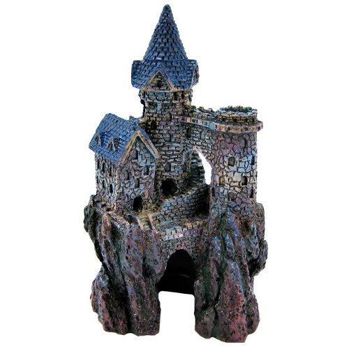 Castelo Magician pequeno decoração de aquários