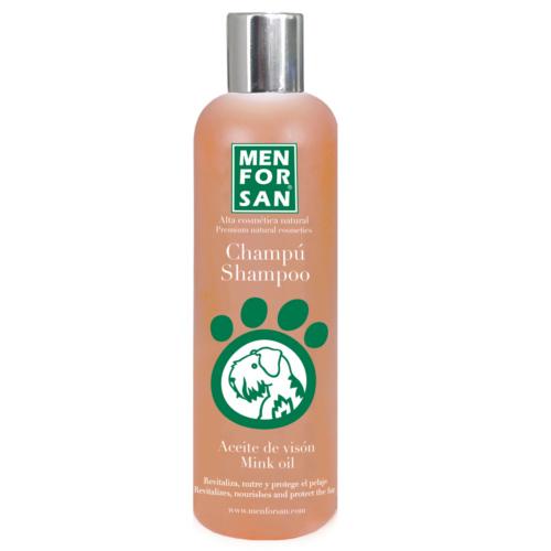 Champô para cães com óleo de vison Menforsan