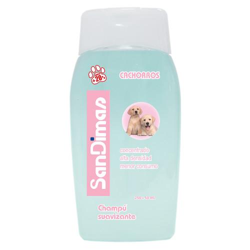 Champô para cães SanDimas com condicionador especial cachorros