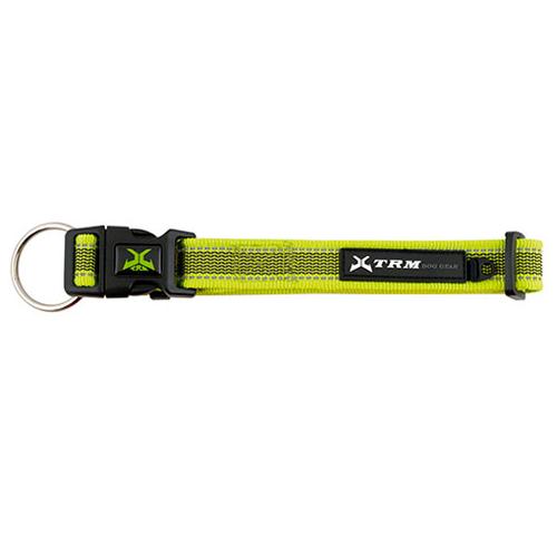 Coleira de nylon para cães X-TRM Pro verde-limão