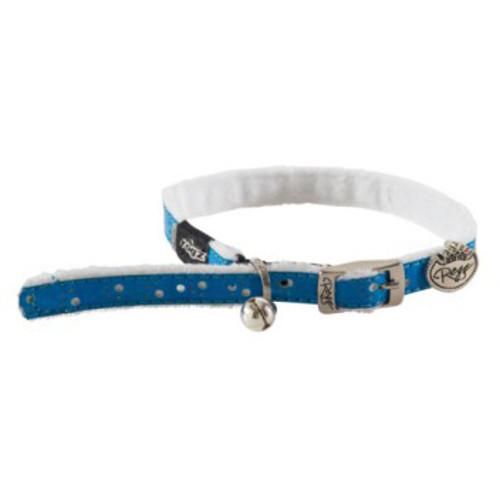 Coleira para gatos azul Rogz Trendycat especial conforto