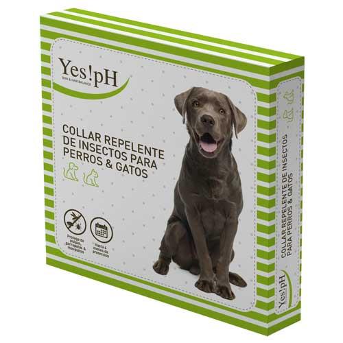 Coleira repelente de insetos para cães Yes!pH
